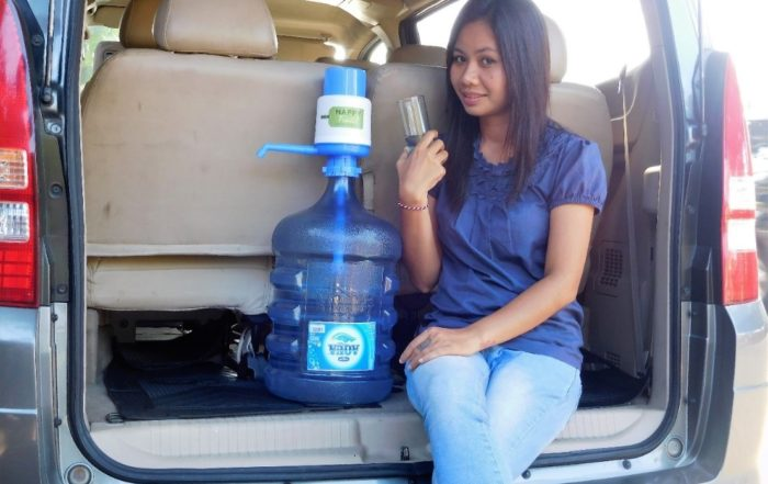 Galon Water for Group Tour