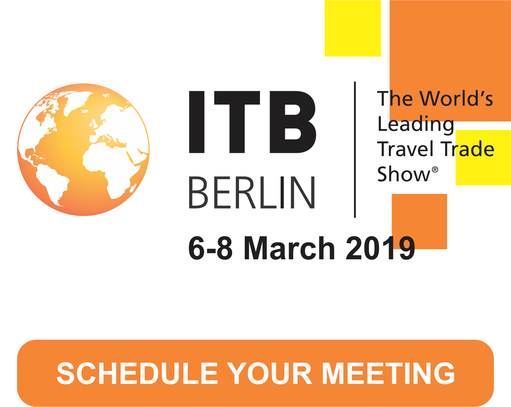 Meet us at ITB Berlin 2019